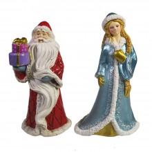 Собственное производство, Новогодние фигурки Дед Мороз, Снегурочка